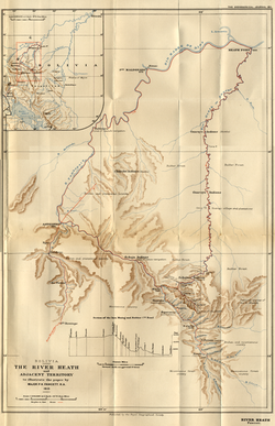 Fawcett Heath map
