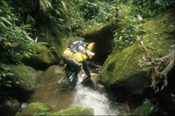 Descending unknown stream