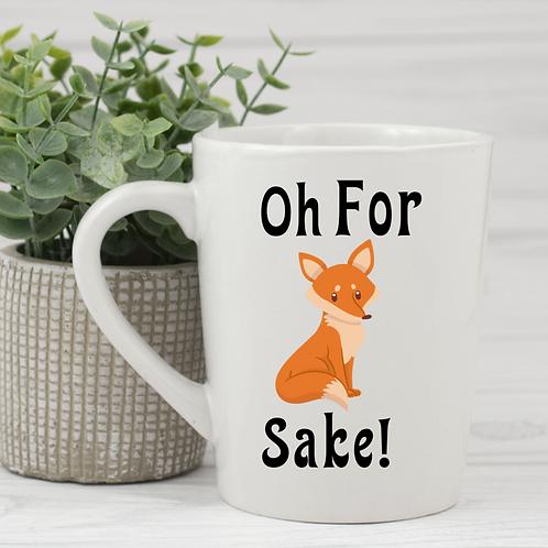 Oh for fox sakes coffee mug