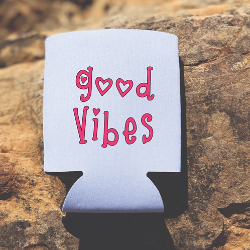 Good Vibes Koozie
