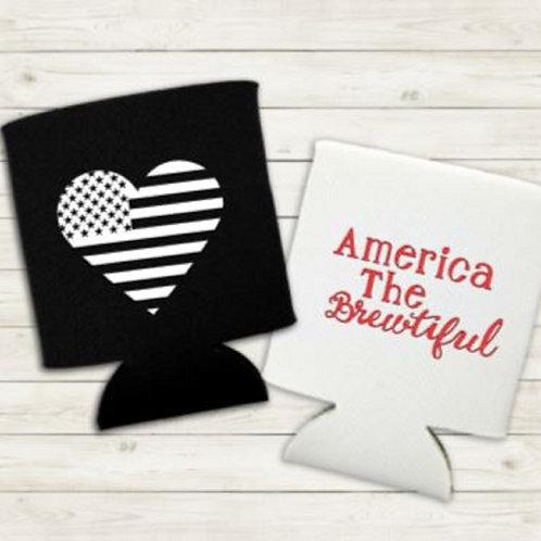 America the Brewtiful Koozie
