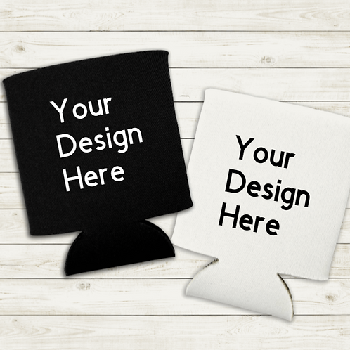 Design your own can koozie