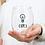 Thumbnail: Drunk Sayings Wine Glass