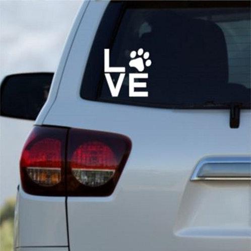 Love Car Decal