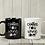 Thumbnail: Coffee now wine later mug