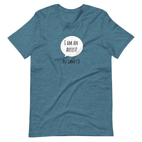 I am an Artist! Adult Unisex T-Shirt