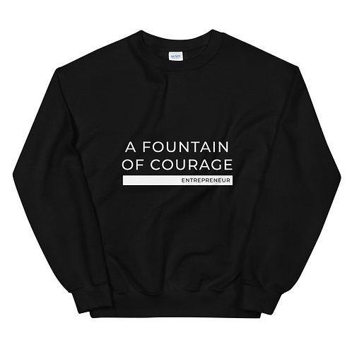 A Fountain of Courage - Unisex Sweatshirt