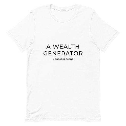 A Wealth Generator - Short-Sleeve Unisex T-Shirt