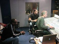 George Brown, Jahny Wallz, Wofgang Amadeus _ The Village Recorder in Santa Monica