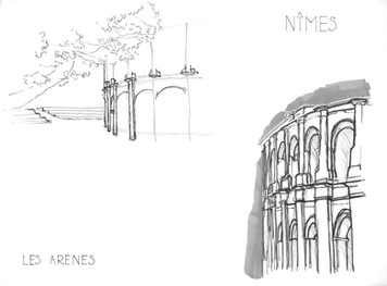 Nîmes- Les Arenes