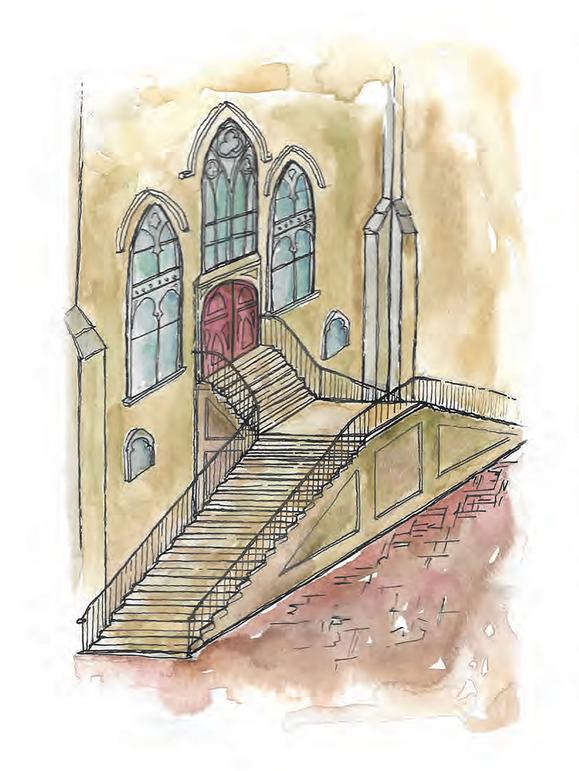 Savannah- Stair