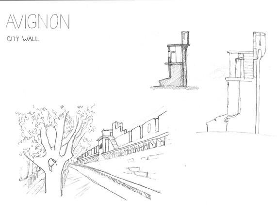Avignon, City Wall