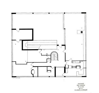 Villa Savoye- First Floor