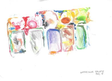 Watercolor Palate