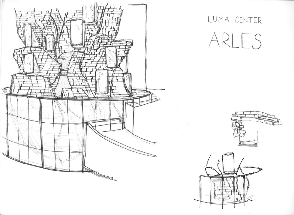 Luma Center, Arles