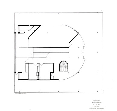 Villa Savoye- Ground Floor