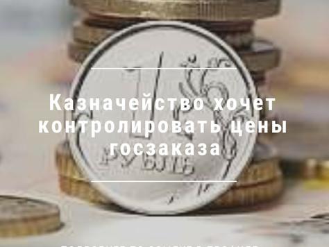 Казначейство хочет контролировать цены госзаказа