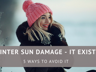Winter Sun Damage - It Exists!