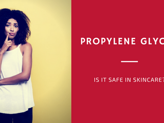 Propylene Glycol - Is it Safe in Skincare?