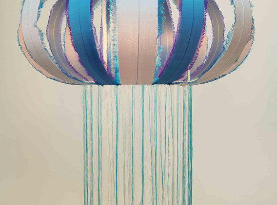 Beautiful Blue Jelly Fish