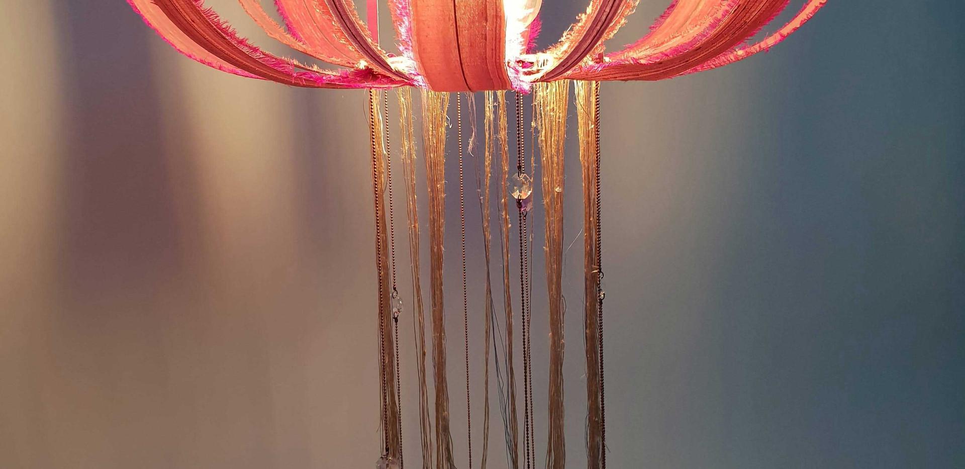 Pink Silk Jelly fish