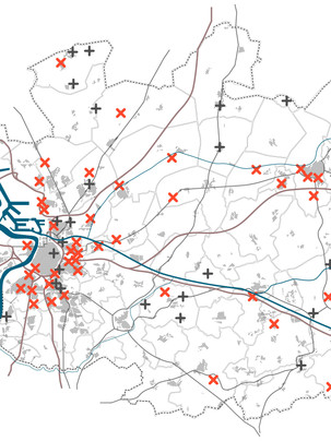 Post-war parish churches in the diocese of Antwerp: mapping artefacts