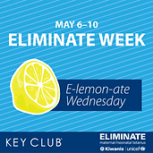 Eliminate Week - E-Lemon-ate - WEDNESDAY