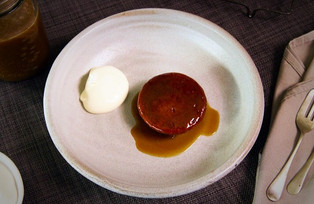 Sticky Fig Pudding with Salted Butterscotch
