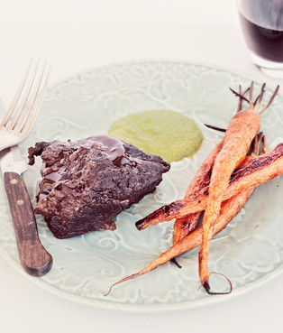 Beef Cheeks with Carrots