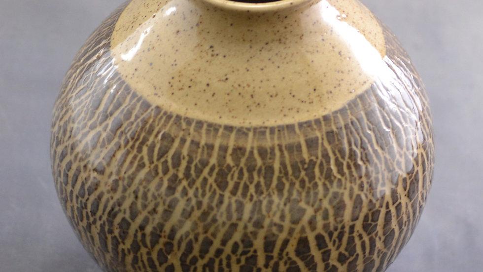 6-1/2  Textured Vase - KAS 844