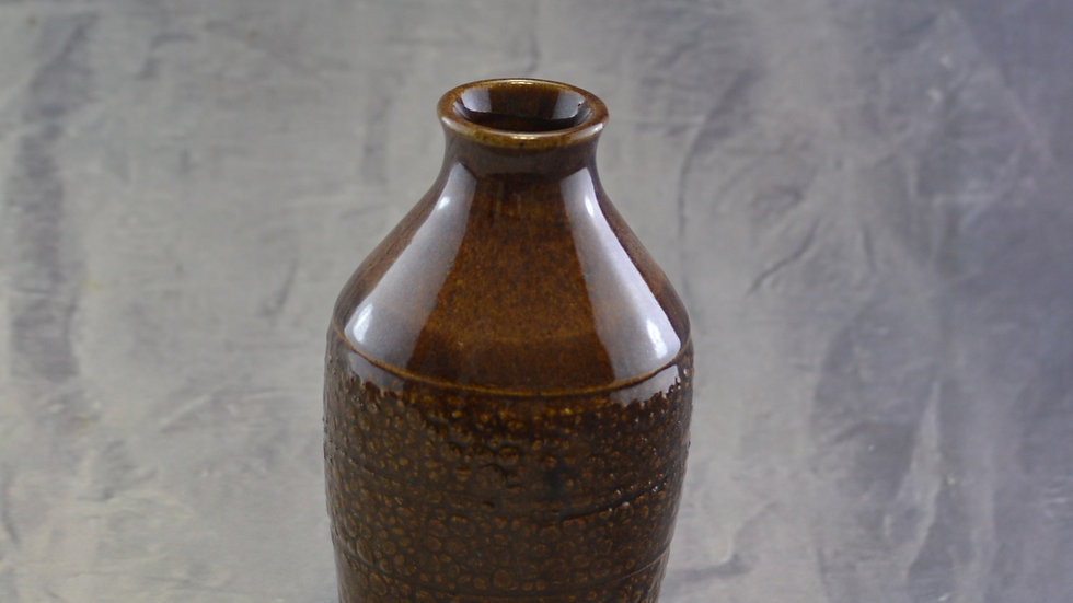 """6-1/4"""" Pebble Textured Vase KAS 825"""