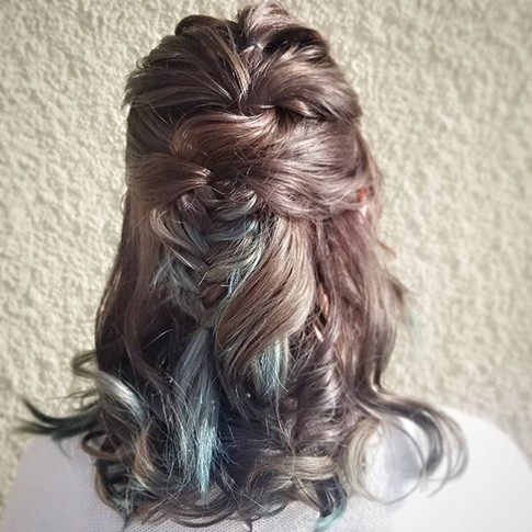 Twists, a fishtail, and some curls make a great tuesday casual style._._._.jpg