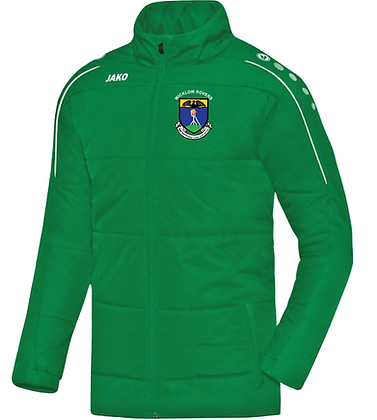 Coaches Jacket - Green / Black (7150 CL06/08)