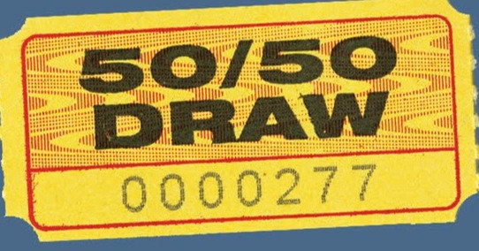 Monthly 50/50 Draw