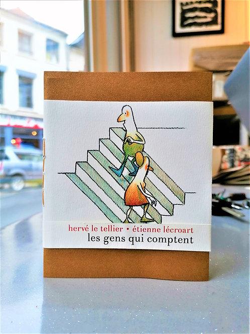 Les gens qui comptent • Hervé Le Tellier • Étienne Lécroart