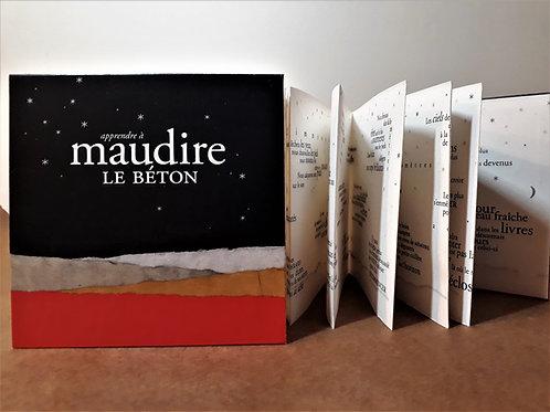Maudire le béton • Guillaume Siaudeau