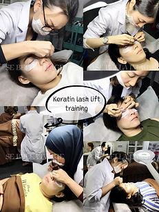 keratin lash lift course