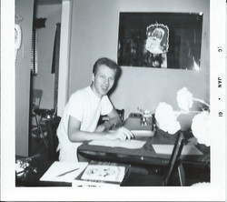 Durk at work in '61