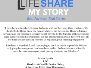 SATM Feedback From LifeShare!