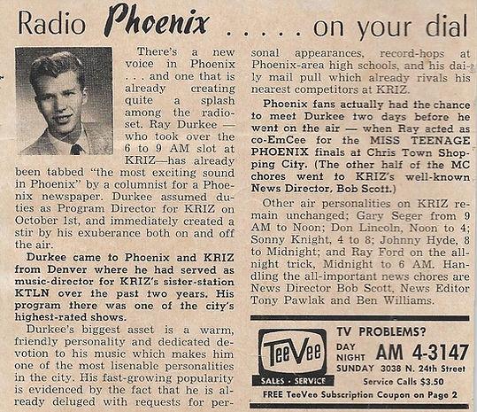 Radio Phoenix - Ray Durkee