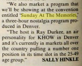 Billboard Magazine - Ray Durkee