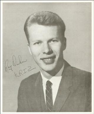 KRIZ Ray Durkee autograph