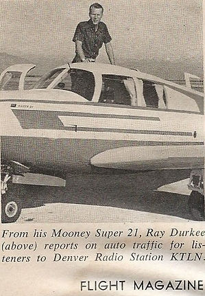 Ray Durkee Flight Magazine
