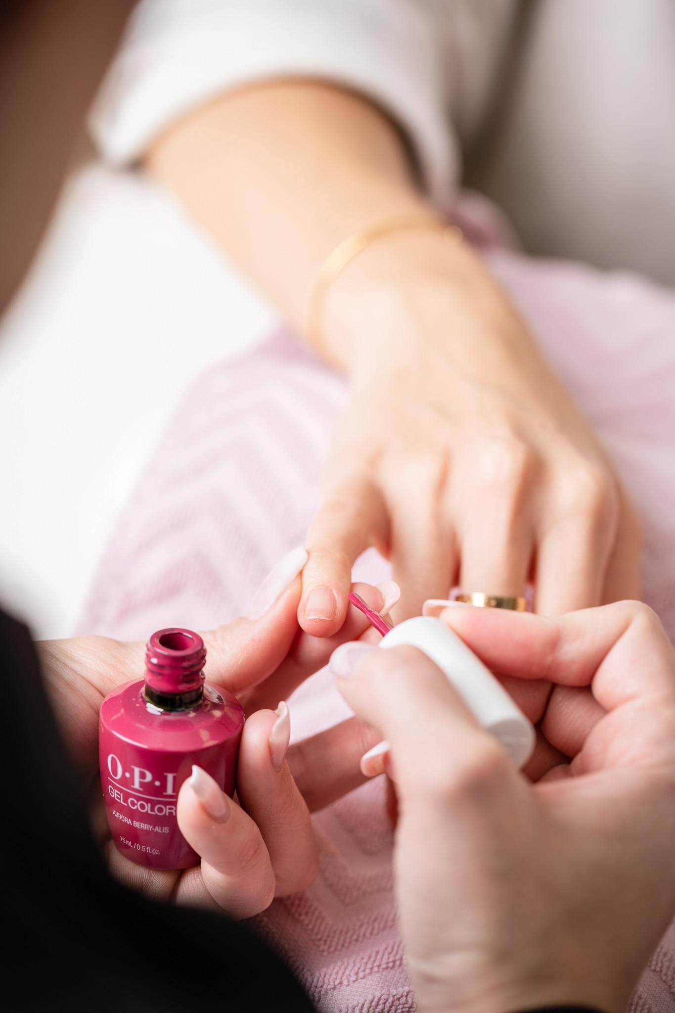 Manucure semi-permanent