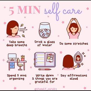 Self Care (Preventative Regulation)