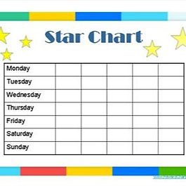 Give yourself a star every time you practice!