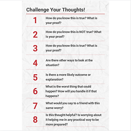 Challenge Your Thoughts