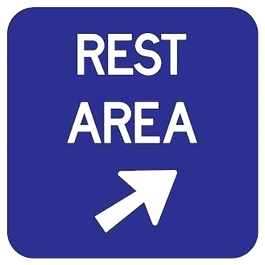 Rest when you are in the blue zone