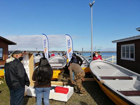 Star Line entrega 5 nuevas embarcaciones a Pescadores Artesanales de Nehuentué en Proyecto Indespa