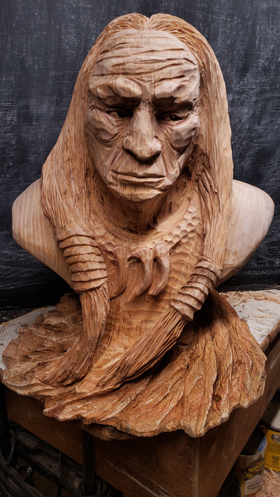 Native Bust
